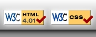 w3c html 4.01 validated